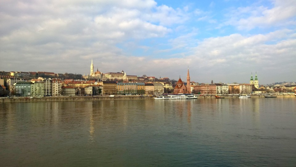 Great views of Buda and the Danube