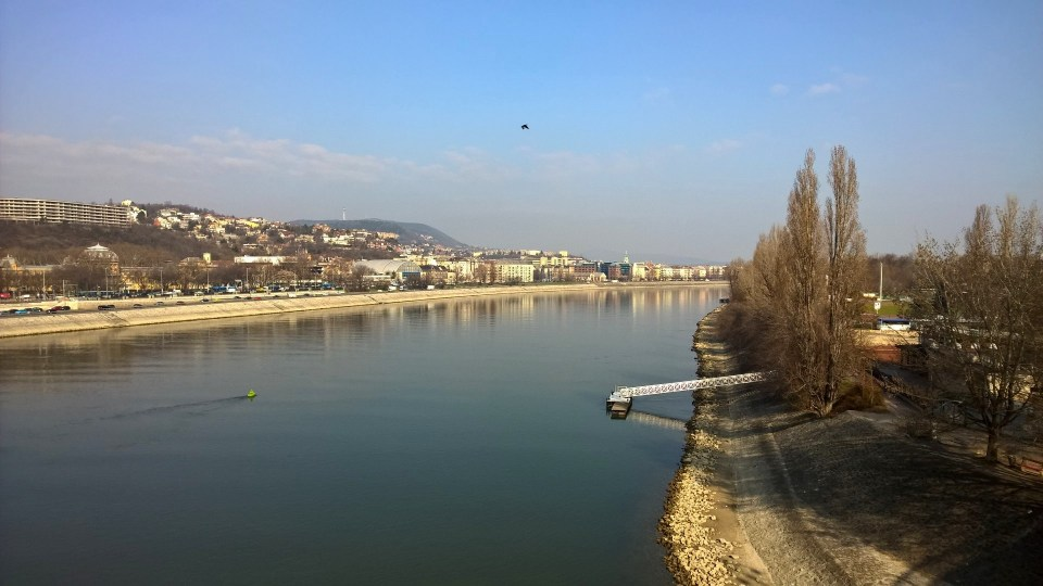 Great views of the suburbs of Budapest