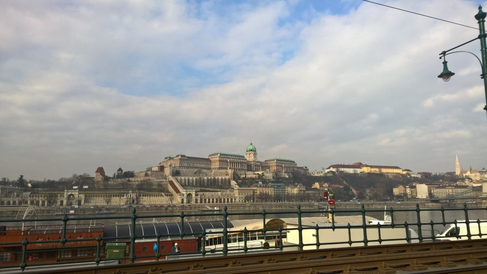A first glimpse of the Budapest Castle