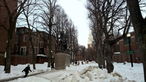 Paul Revere Monument Boston