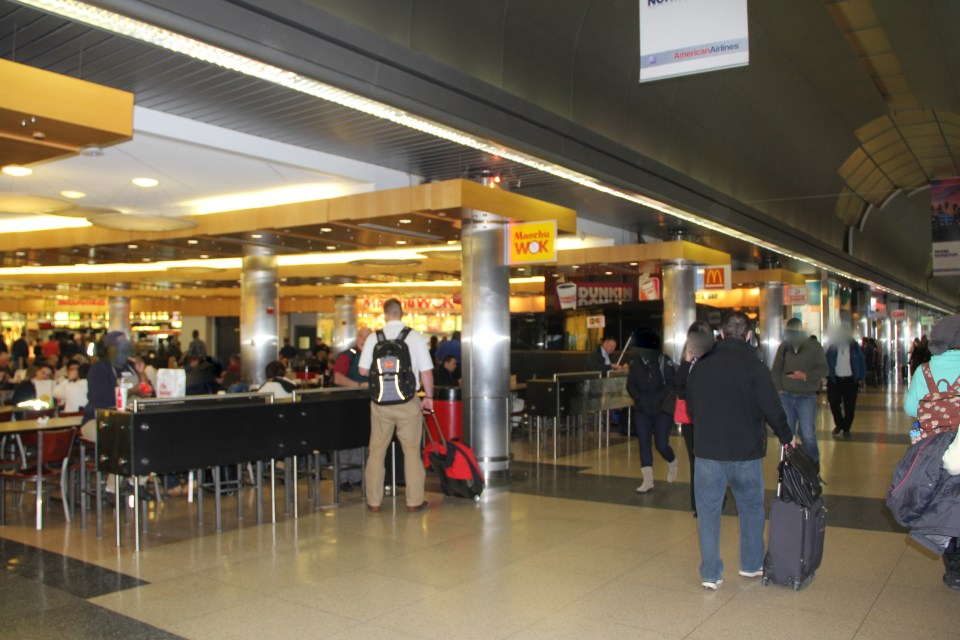 There are dozens of eating options at Chicago O'Hare Airport