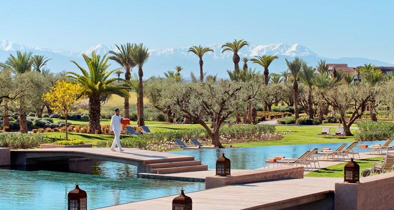 Pool Royal Palm Marrakech