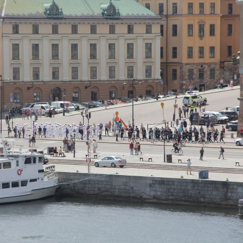 Stockholm Change of the Guards