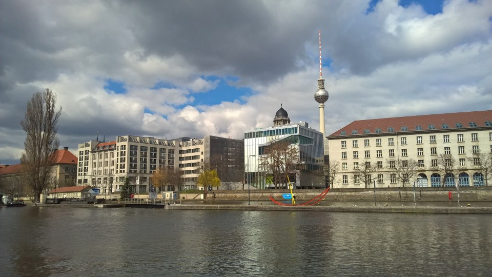 Great views of the Berlin TV Tower