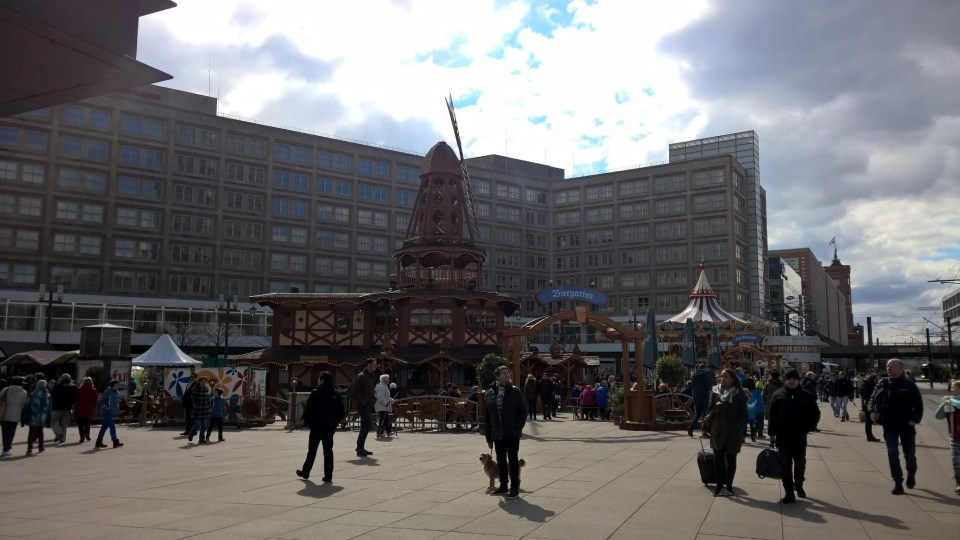 Carnival at Alexanderplatz