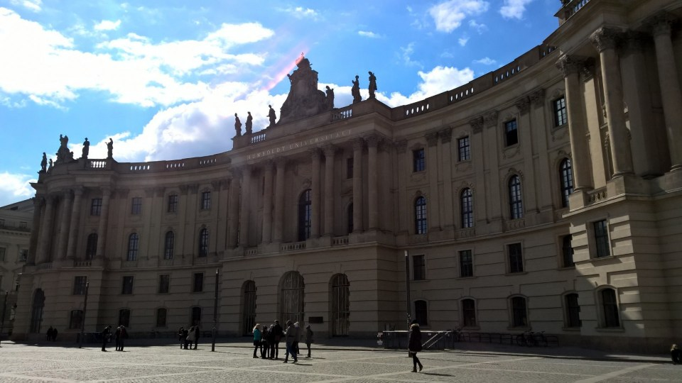 Back where I started: Humboldt University