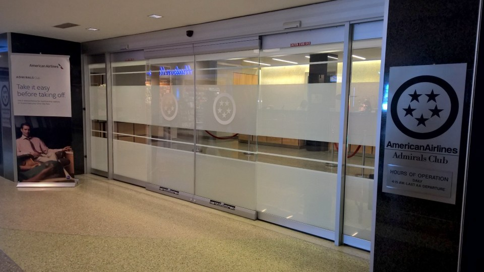 Flying with AA, you may be granted access to the Admirals Club at Boston Logan Airport