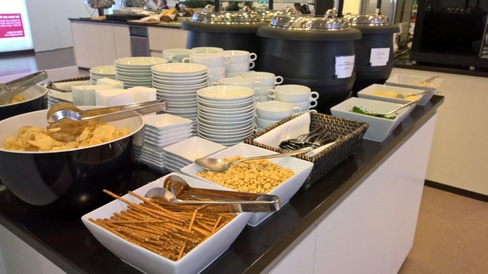 Jet Lounge Vienna Buffet