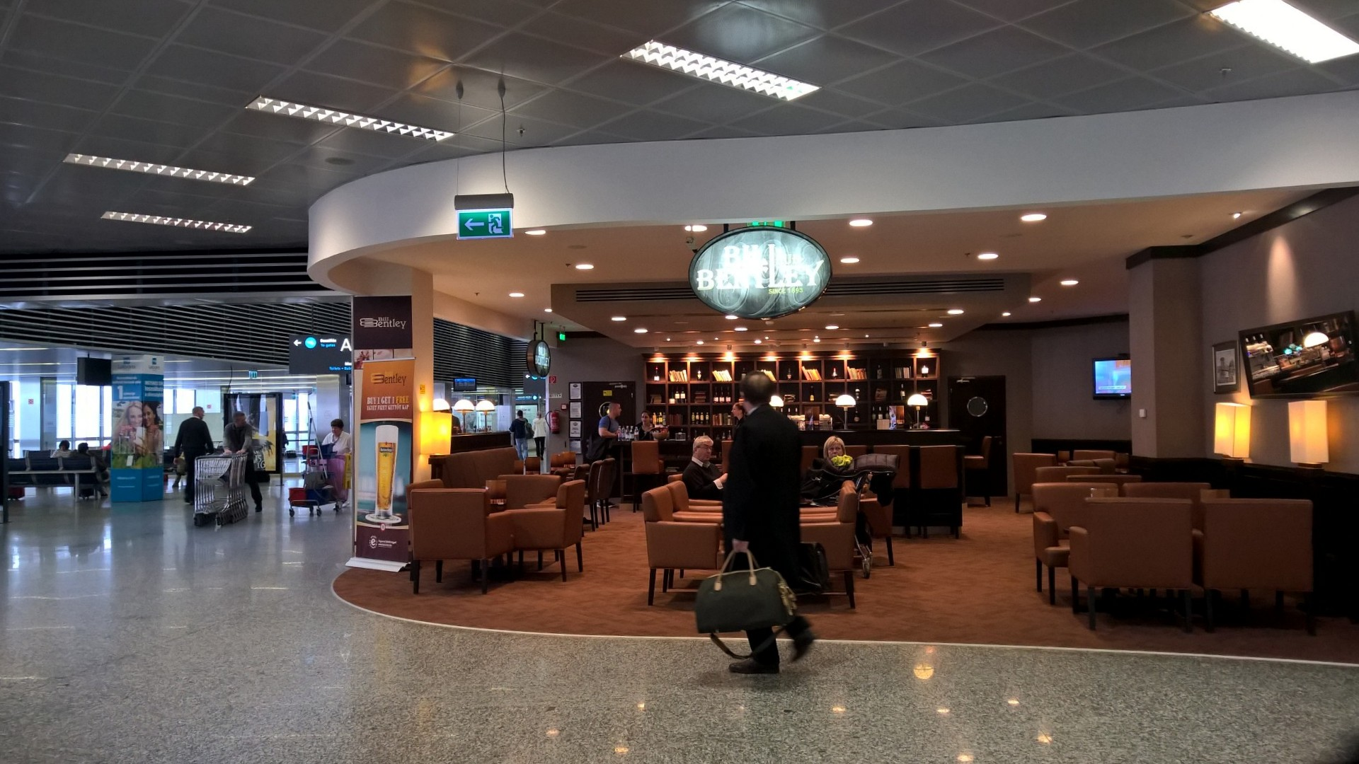 Budapest Airport Dining