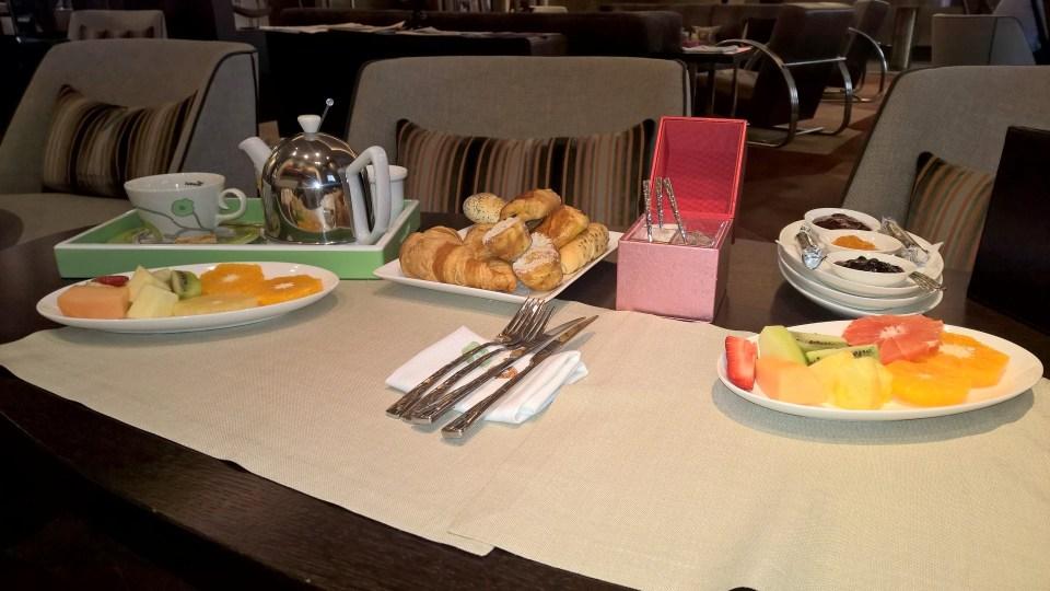 Continental Breakfast at Kempinski Hotel Corvinus Budapest