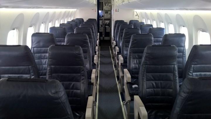Air Baltic Seating