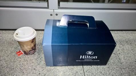 Hilton Warsaw Convention Center Breakfast