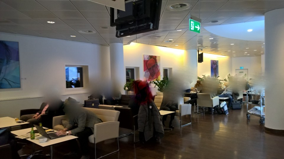 Jet Lounge Vienna Seating