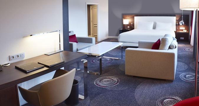 Hilton Brussels Grand Place Junior Suite