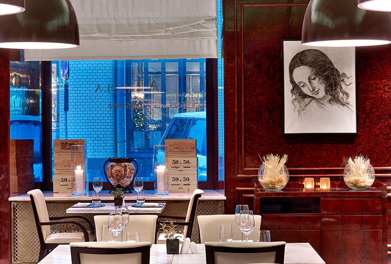 The St. Regis Moscow Osteria A Tavola