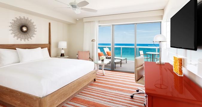 Hilton Cabana Miami Beach Premium Oceanfront Room