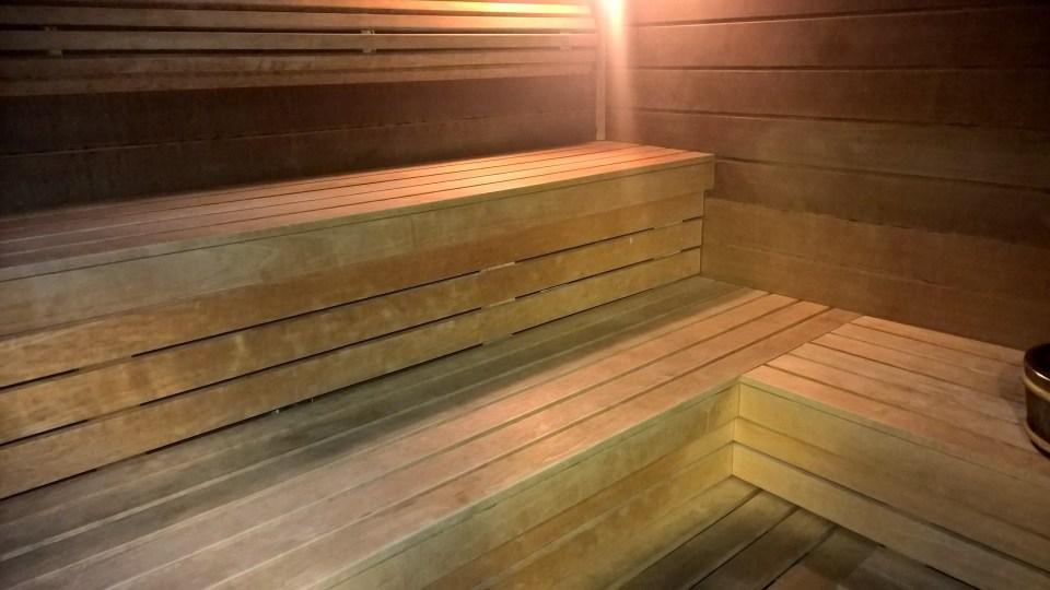 Sauna of Hilton Budapest City