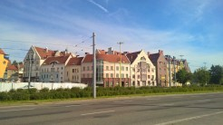 Building in Sczcecin