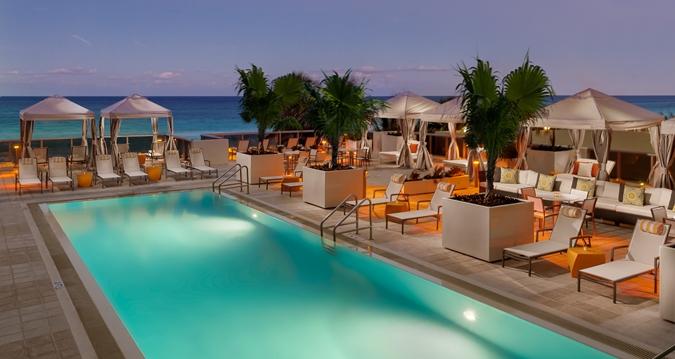 Hilton Cabana Miami Beach Upper Pool