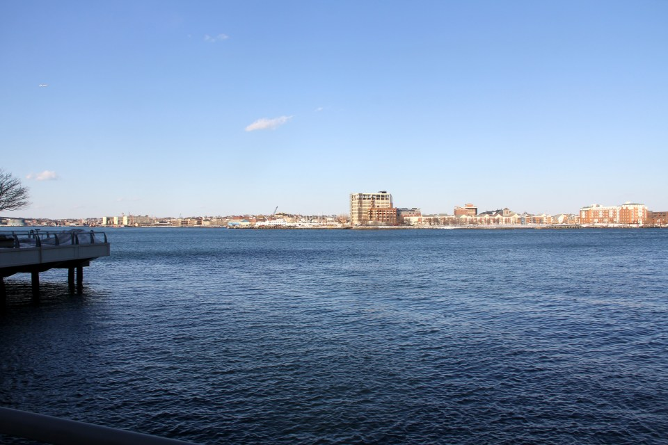 The views you can enjoy at Battery Wharf Hotel Boston are unbeatable