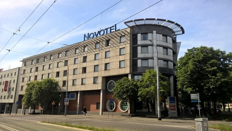 Back where I started: Novotel Szczecin