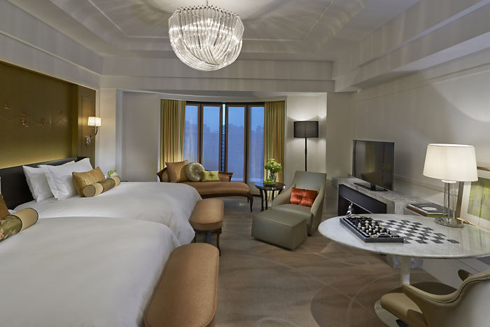 Deluxe Room (Image Source: Mandarin Oriental Taipei / mandarinoriental.com)