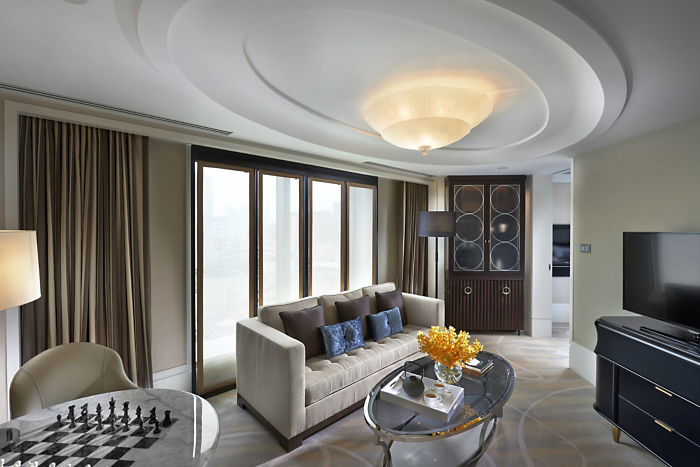 Mandarin Premier Room (Image Source: Mandarin Oriental Taipei / mandarinoriental.com)