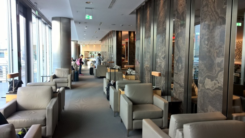 Frankfurt Airport Maple Leaf Lounge