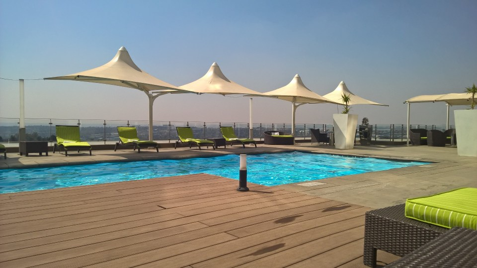 Outdoor Pool Radisson Blu Sandton