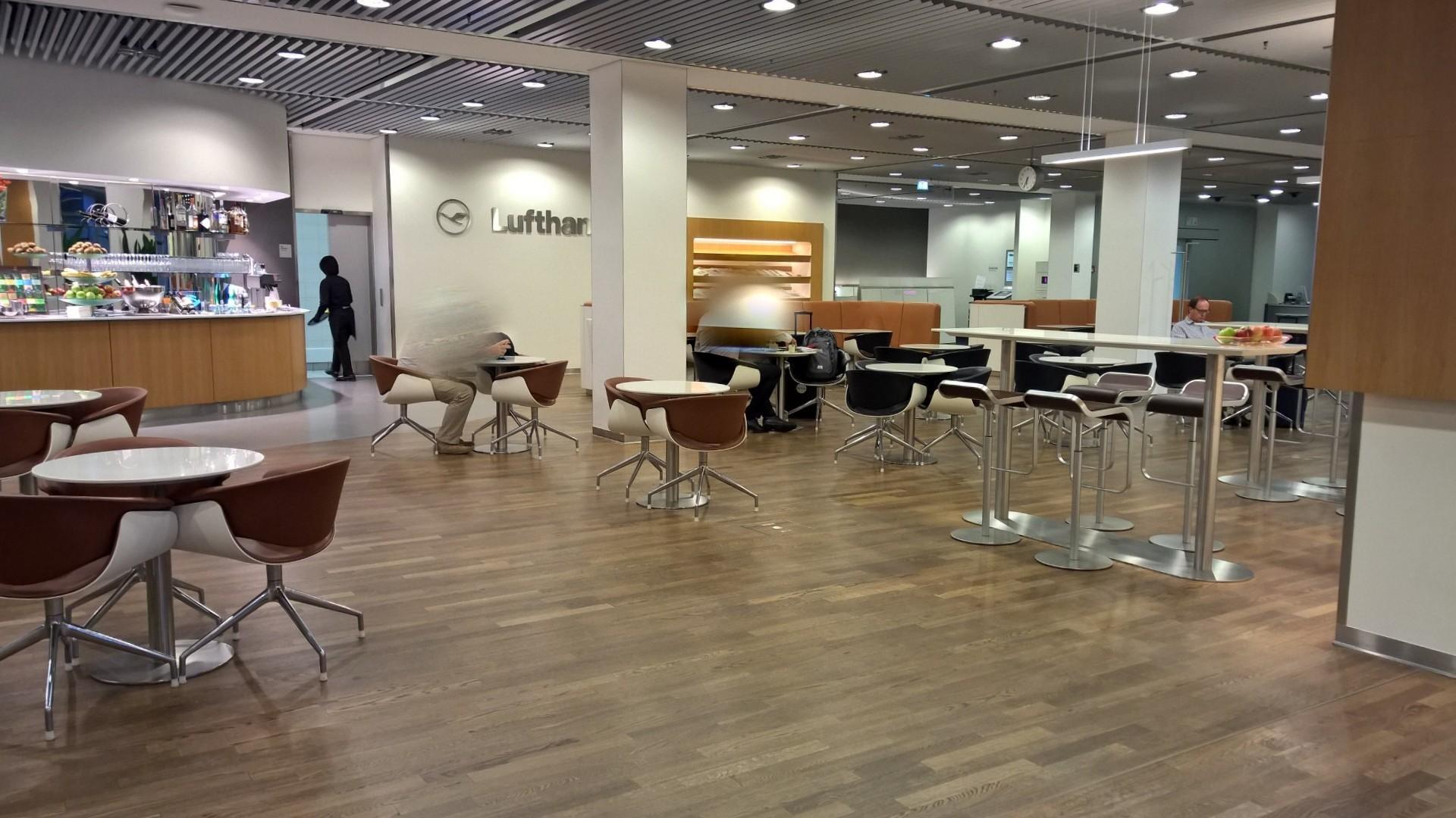 Frankfurt Airport Senator Lounge Lufthansa