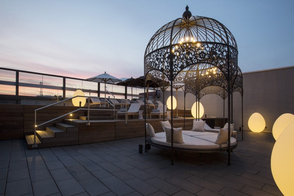 Kameha Grand Zurich Spa Terrace