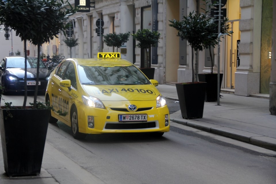 Taxis in Vienna are expensive, but very safe