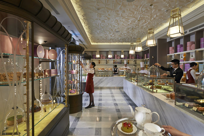 The Mandarin Cake Shop (Image Source: Mandarin Oriental Taipei / mandarinoriental.com)