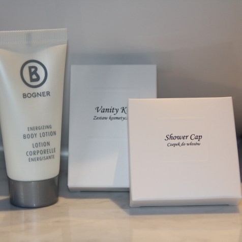 Platinum Palace Wroclaw Toiletries