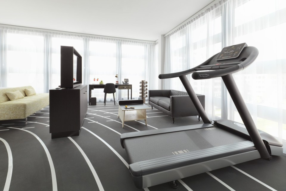 Kameha Grand Zurich Workout Suite