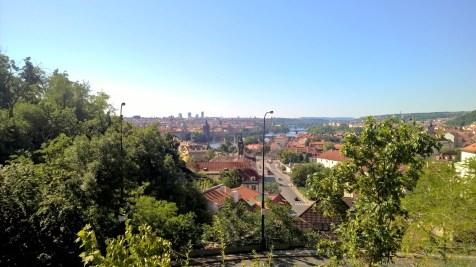 Running in Prague