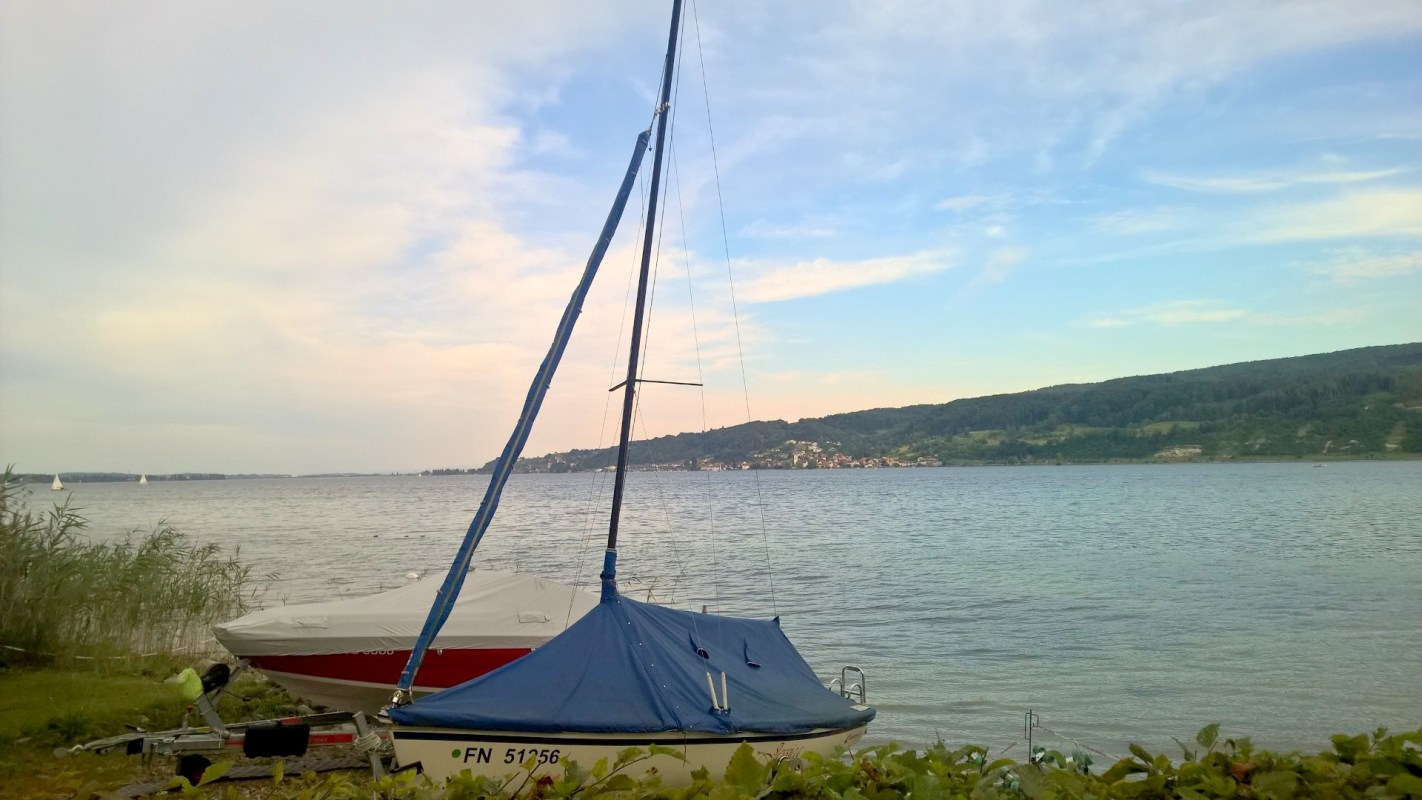 Running at Lake Constance