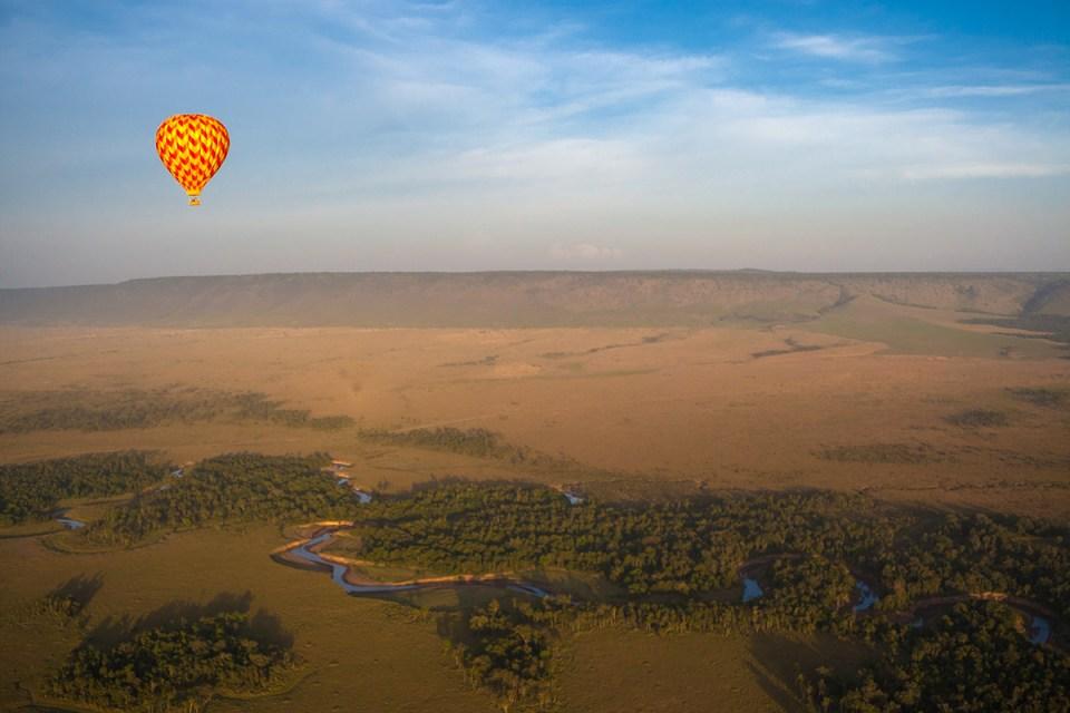 Angama Mara Ballooning