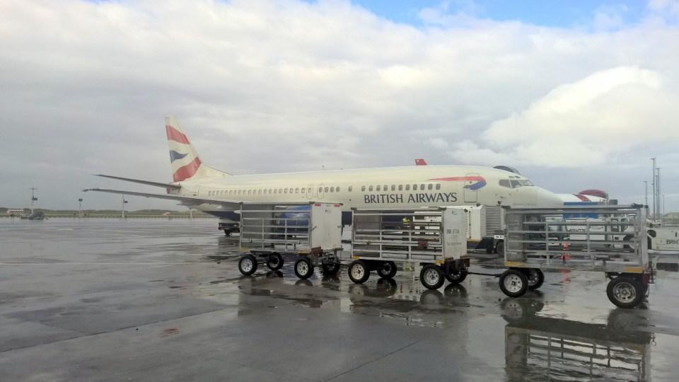 Comair Boeing 737-400