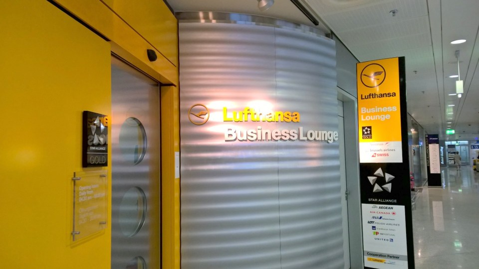 Lufthansa Business Lounge Athens