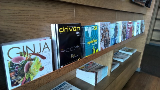 SLOW Lounge Cape Town Magazines