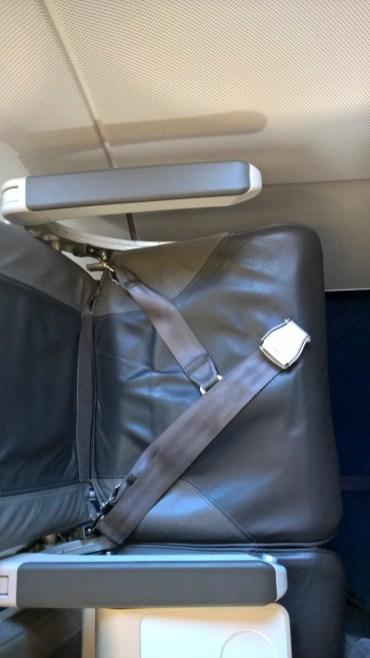 Lufthansa A321 Business Class Seat