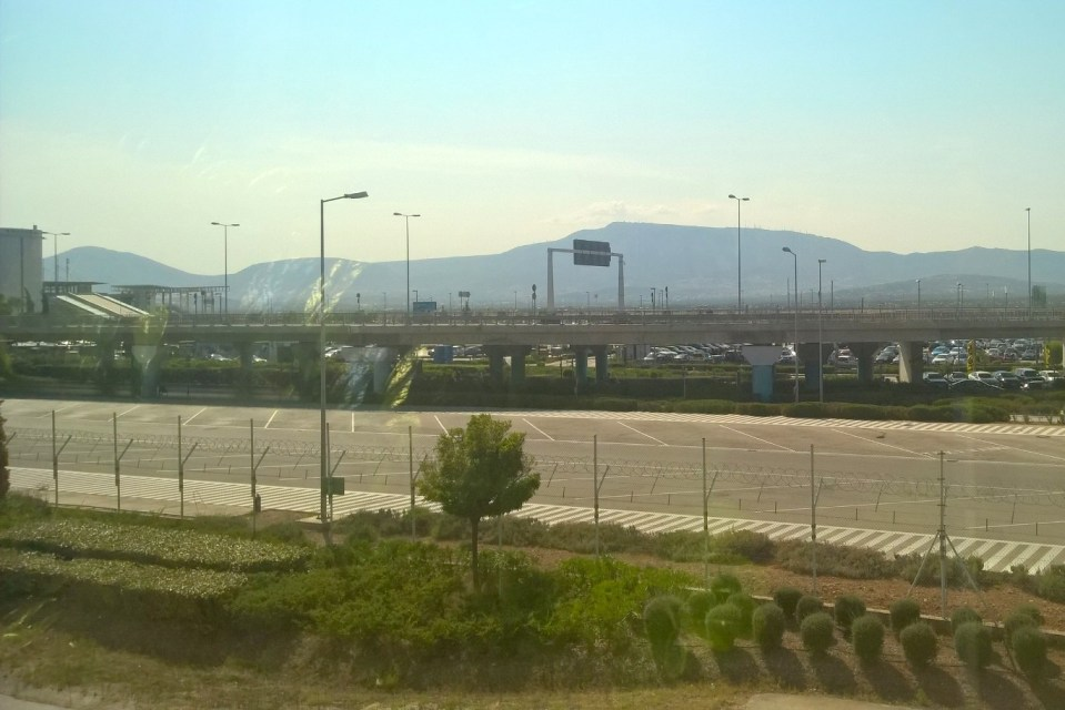 Lufthansa Business Lounge Athens View
