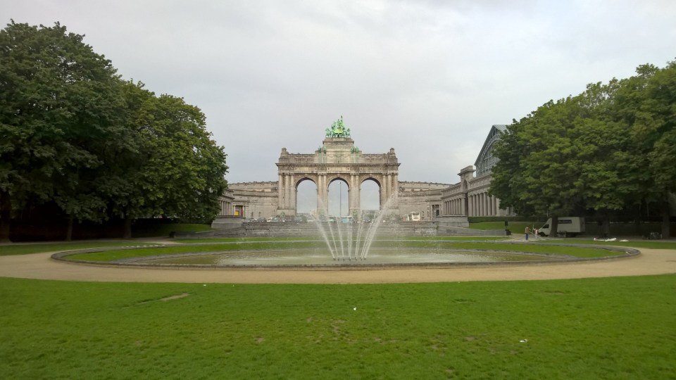 Running in Brussels