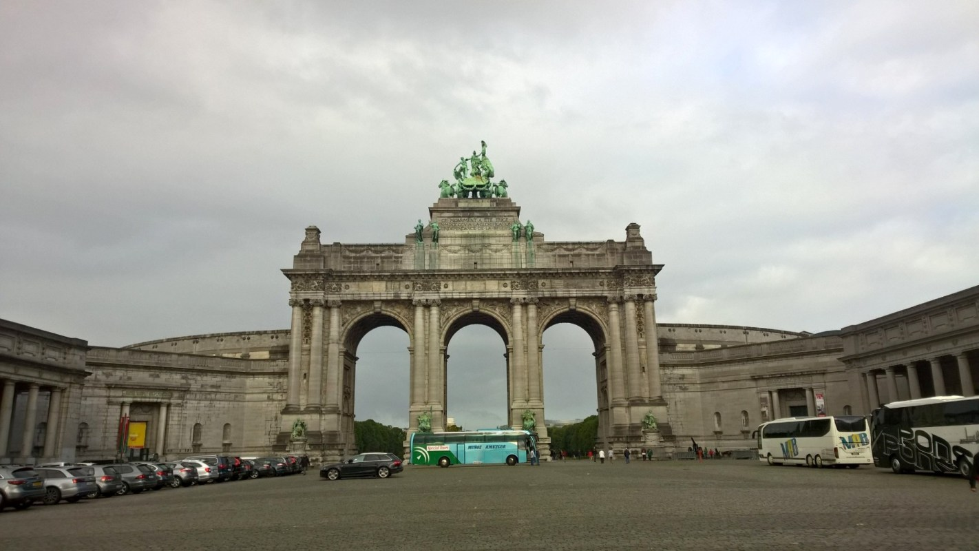 Running in Brussels