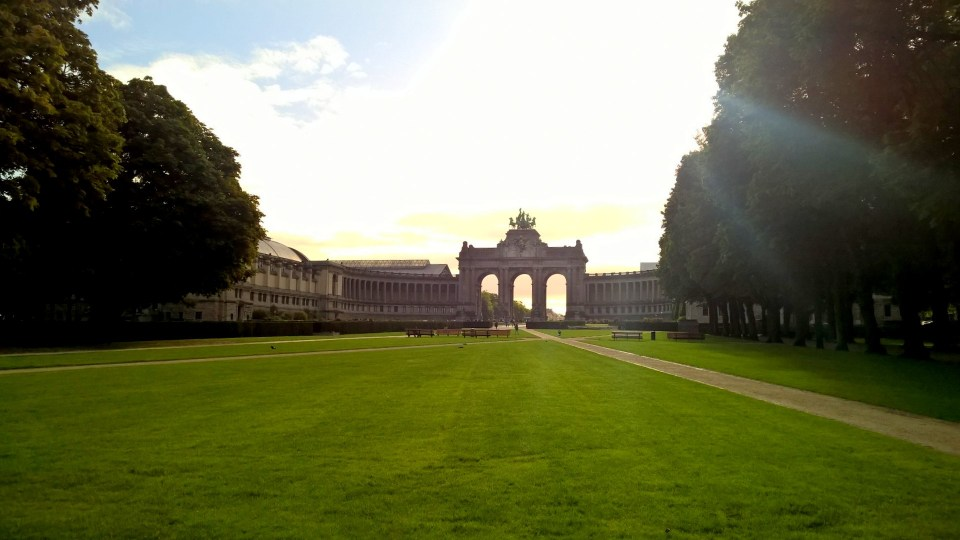 Triumphal Arc Brussels