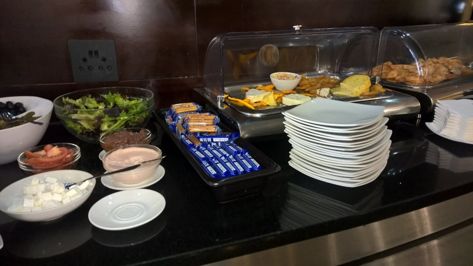 Baobab Business Lounge Johannesburg Buffet