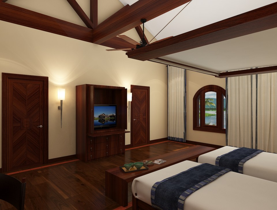 Sanctum Inle Resort Cloister Classic Room