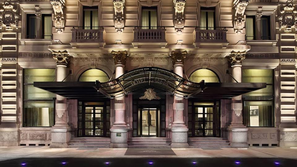 Excelsior Hotel Gallia Milan Exterior