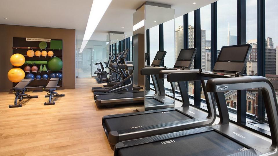 Excelsior Hotel Gallia Milan Gym